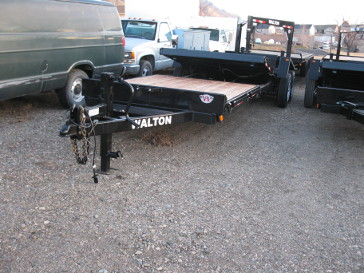 Walton Sst1420 Tilt Deck Trailer 24 Foot Walton New